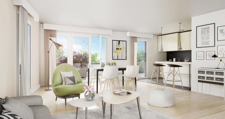 Achat / Vente appartement neuf Saint-Nazaire quartier du Phare de Kerlédé (44600) - Réf. 2075