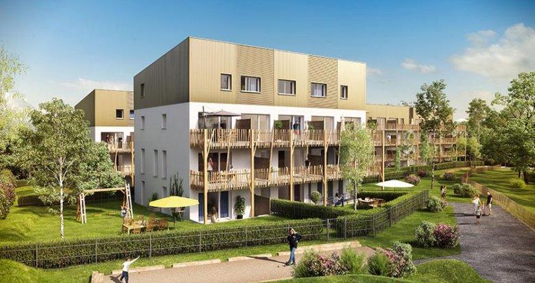 Achat / Vente appartement neuf Saint-Nazaire quartier le Grand Gavy (44600) - Réf. 1738