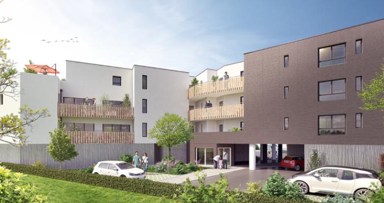 Achat / Vente appartement neuf Saint-Nazaire quartier Penhoët (44600) - Réf. 5515