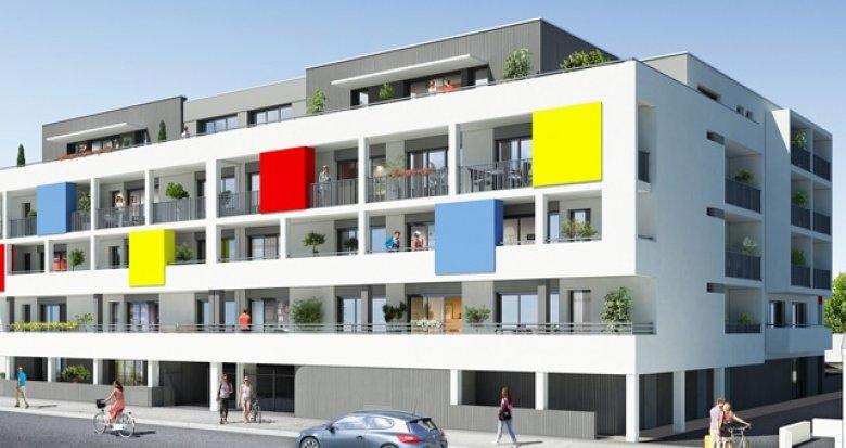 Achat / Vente appartement neuf Saint-Nazaire résidence étudiante (44600) - Réf. 208