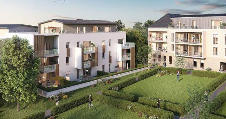 Achat / Vente appartement neuf Saint Philbert de grand lieu au coeur du centre-ville (44310) - Réf. 4922