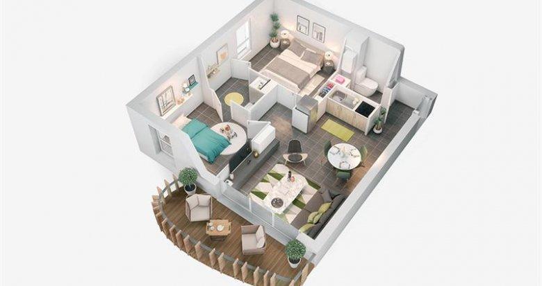 Achat / Vente appartement neuf Saint-Sébastien-sur-Loire centre-ville (44230) - Réf. 915