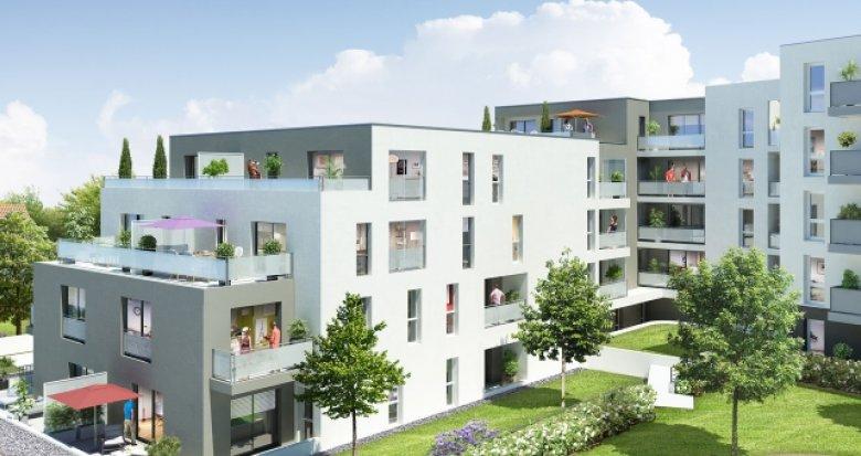Achat / Vente appartement neuf Saint-Sébastien-sur-Loire emplacement d'exception (44230) - Réf. 1165