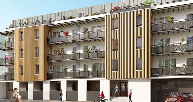 Achat / Vente appartement neuf Saint-Sébastien-sur-Loire proche canaux de Sèvre (44230) - Réf. 1914