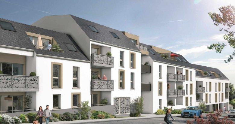 Achat / Vente appartement neuf Saint-Sébastien-sur-Loire quartier de la Martellière (44230) - Réf. 424