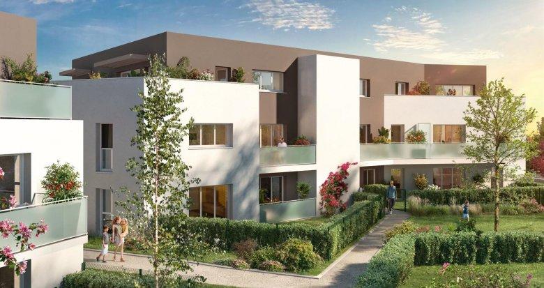 Achat / Vente appartement neuf Saint-Sébastien-sur-Loire quartier les Savarières (44230) - Réf. 5786