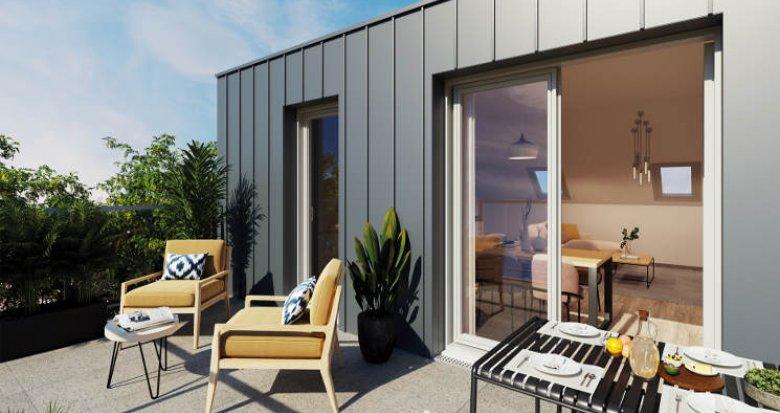 Achat / Vente appartement neuf Sainte-Luce-Sur-Loire à 15 min du cœur de Nantes (44980) - Réf. 5883