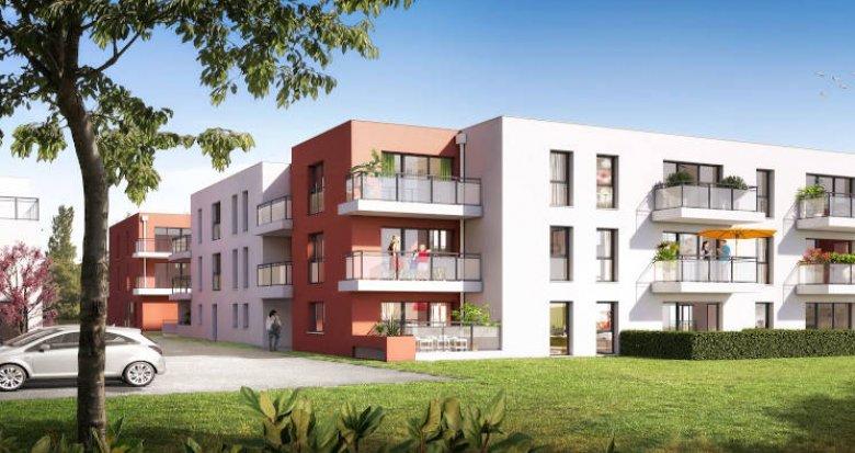 Achat / Vente appartement neuf Sainte-Luce-sur-Loire à deux pas de l'école primaire (44980) - Réf. 4009