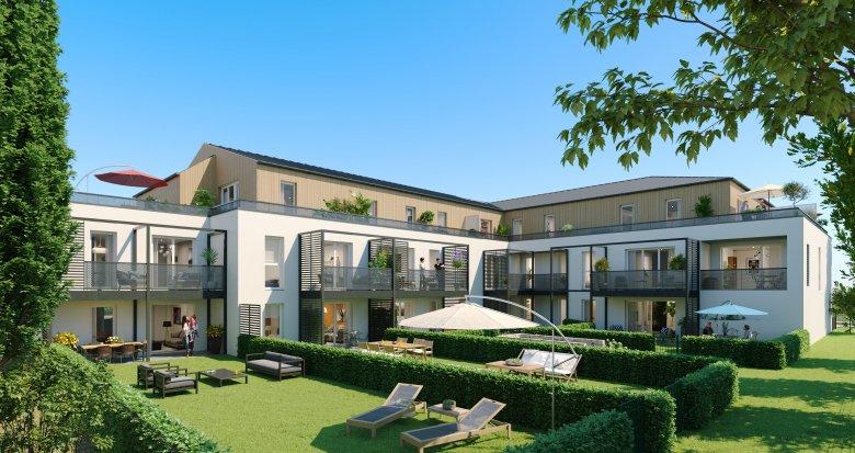 Achat / Vente appartement neuf Sautron coeur de ville (44880) - Réf. 3222