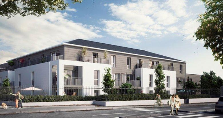 Achat / Vente appartement neuf Thouaré-sur-Loire proche centre de village (44470) - Réf. 1676