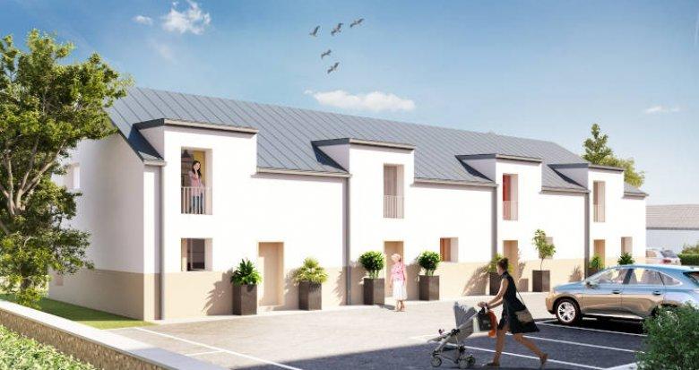 Achat / Vente appartement neuf Treillières centre ville proche toutes commodités (44119) - Réf. 3923