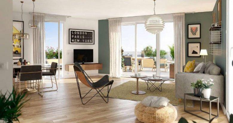 Achat / Vente appartement neuf Vertou à 10 minutes du centre de Nantes (44120) - Réf. 4055