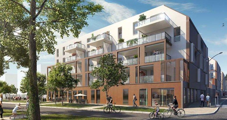 Achat / Vente appartement neuf Vertou à 50 mètres de la gare (44120) - Réf. 1303