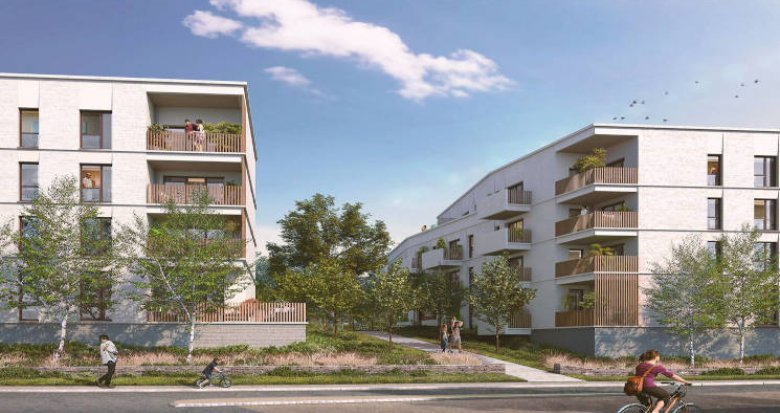 Achat / Vente appartement neuf Vertou proche busway (44120) - Réf. 5936